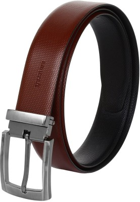 Amicraft Boys Casual, Party, Formal Black, Brown Genuine Leather Reversible Belt