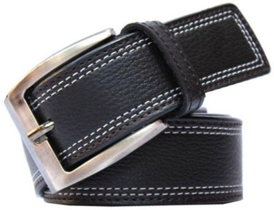 Earth Ro System Men Black Artificial Leather Belt