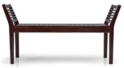 Urban Ladder Latt Solid Wood 2 Seater(Finish Color - Mahogany)