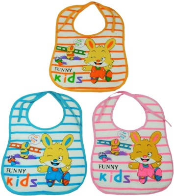 Crack4Deal Bibs Large Set of 3(Multi-color) at flipkart