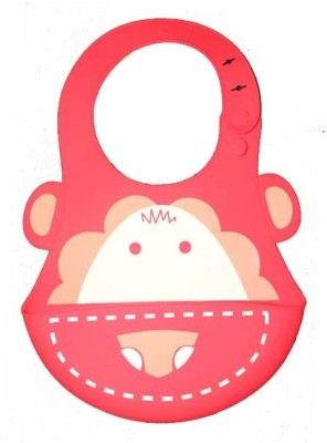 Coddle Baby Silicon Scoop Bib(Red) at flipkart