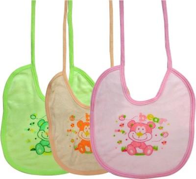 DCS Multi Color Bear Design Baby Bibs for Kids(6-12months)(Pack of 3)(Multicolor) Flipkart