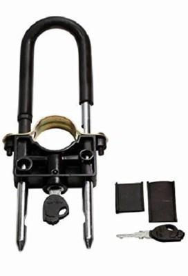 AllExtreme ShockerLock_001 Motorcycle / Bike Front Wheel Lock /Disk Brake Front shocker / Wheel Lock Wheel Lock(Black)  available at flipkart for Rs.275