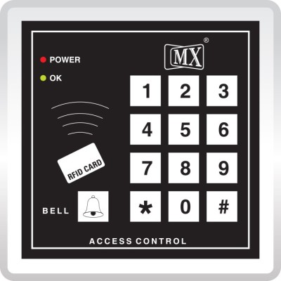 MX Digital Keypad Numeric Time Attendance Access Control System Time & Attendance, Access Control(Card, ID)  available at flipkart for Rs.899