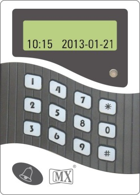 MX Keypad Numeric Time Attendance Access Control System With Display Time & Attendance, Access Control(Card, Password)  available at flipkart for Rs.1359