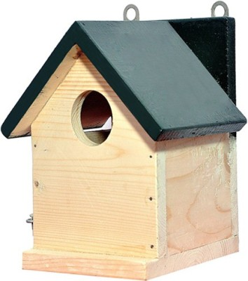 PetNest Sparrow and tit Nestbox home shape Bird House(Hanging, Wall Mounting, Tree Mounting, Free Standing)