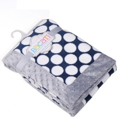 Bacati Polka Single Blanket Multicolor at flipkart