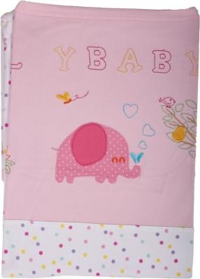 Baby Boo Animal, Polka Crib Baby Sleep Sack(Microfiber, White, Pink)