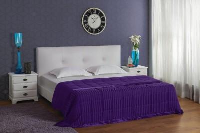 Stoa Paris Striped King Quilt, Comforter Purple at flipkart