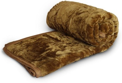 Tiajria Printed Double Mink Blanket(Microfiber, Multicolor) at flipkart