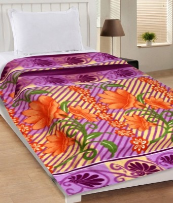 Midha Groups Printed Single Blanket Multicolor(Fleece Blanket)  available at flipkart for Rs.259