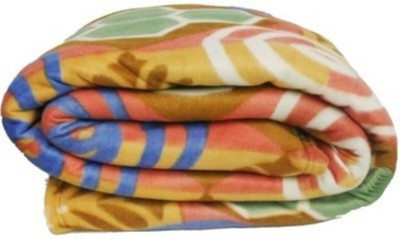 Marwal Floral Single Blanket Multicolor(Fleece Blanket, 1 Blankets) at flipkart