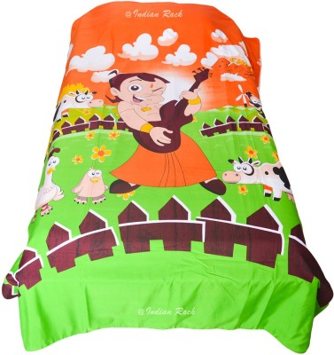 Chhota Bheem Cartoon Single Dohar(Polyester Micro, Multicolor)
