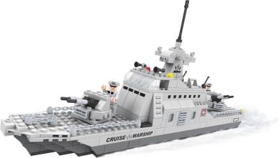 Fun Blox Army Guard War Bolcks (Cruise Warship, Fighter Plane, Soldier)(Multicolor)22702(Multicolor) at flipkart