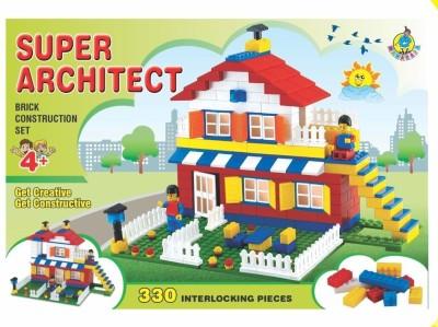 maharaja Super Architect Multicolor maharaja Blocks   Building Sets