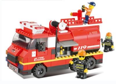 Sluban Fire Engine Multicolor Sluban Blocks   Building Sets