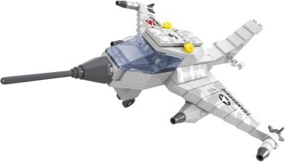 Fun Blox 168pcs Army Blocks -Fighter Jet(Multicolor)