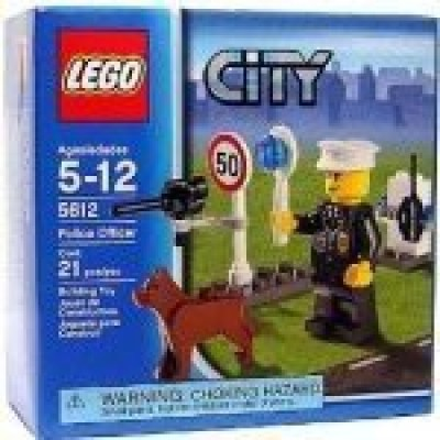 Lego City Set Exclusive Mini Figure Police Officer(Multicolor)  available at flipkart for Rs.2539