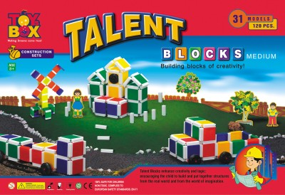 Toysbox Talent Blocks Medium Toysbox Blocks   Building Sets