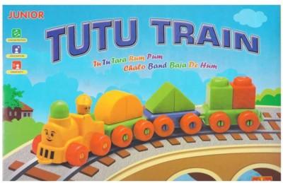 Ratnas Tutu Train Junior Multicolor Ratnas Blocks   Building Sets