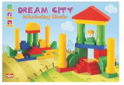 Ratnas Dream City Block Multicolor Ratnas Blocks   Building Sets