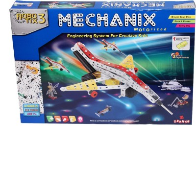 Zephyr Mechanix - Robotix 3(Multicolor)  available at flipkart for Rs.1018