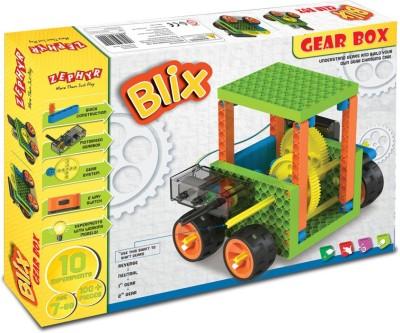 MECHANIX BLIX   GEAR BOX Multicolor MECHANIX Blocks   Building Sets