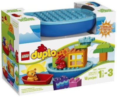 LEGO DUPLO Creative Play 10567 Toddler Build And Boat Fun(Multicolor)  available at flipkart for Rs.5621