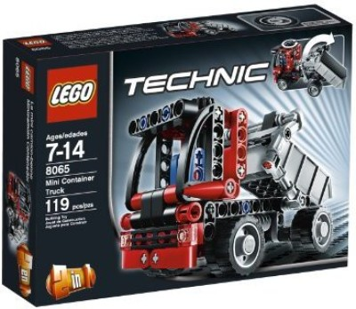 Lego Technic Mini Container Truck 8065(Multicolor)  available at flipkart for Rs.6282