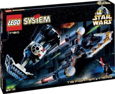 Lego Star Wars Tie Fighter & Y Wing 7150 (Japan Import)(Blue)  available at flipkart for Rs.20792