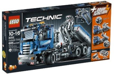 Lego Technic Container Truck 8052(Multicolor)  available at flipkart for Rs.48298