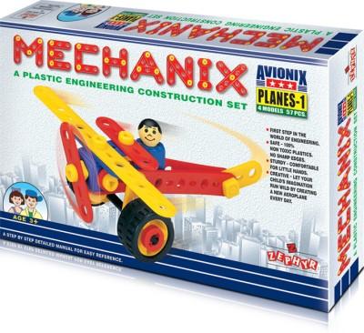 ZEPHYR Plastic Mechanix Planes 1 ZEPHYR Blocks   Building Sets