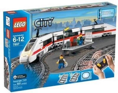 Lego City Train Starter Set(Multicolor)  available at flipkart for Rs.44779