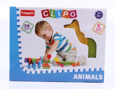 FUNSKOOL Clipo Animals FUNSKOOL Blocks   Building Sets