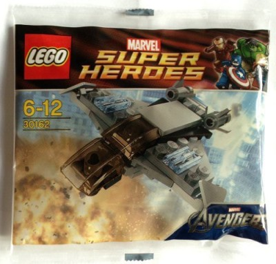 Super-Heroes Lego Marvel Superheroes Quinjet 30162(Multicolor)  available at flipkart for Rs.1820