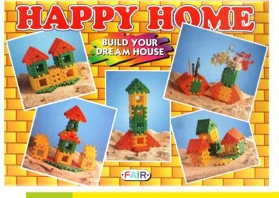 Ratnas Happy Home Senior Multicolor Ratnas Blocks   Building Sets