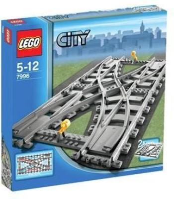 Lego City Train Track Splitter (7996)(Grey)  available at flipkart for Rs.34425