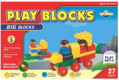 Virgo Toys Play Block Play Set 2(Multicolor)