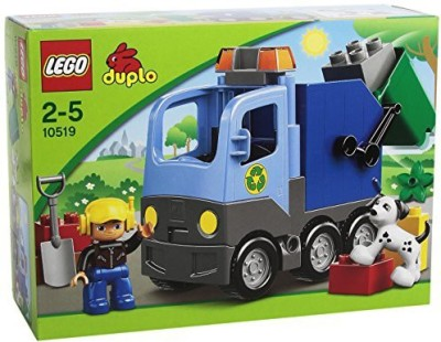 Lego Duplo 10519 Garbage Truck(Multicolor)  available at flipkart for Rs.16056