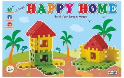Ratnas Happy Home Junior Multicolor Ratnas Blocks   Building Sets