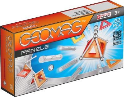 Geomag Panels 22pcs Silver, Red, Orange