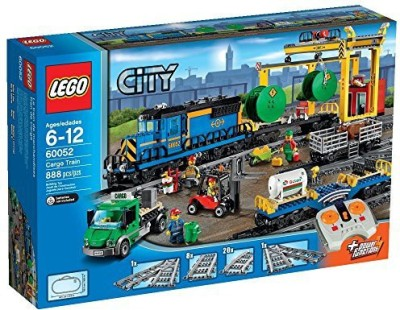Lego City Trains Cargo Train 60052 Building(Blue)  available at flipkart for Rs.32071