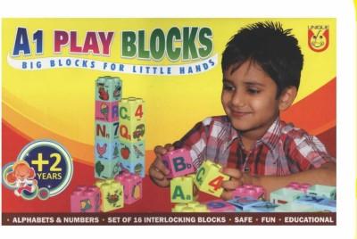 Ratnas A1 Play Blocks Multicolor Ratnas Blocks   Building Sets