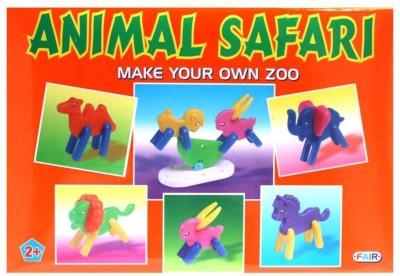 Ratnas Animal Safari Multicolor Ratnas Blocks   Building Sets