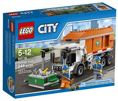 Lego City Garbage Truck(Multicolor)  available at flipkart for Rs.8235