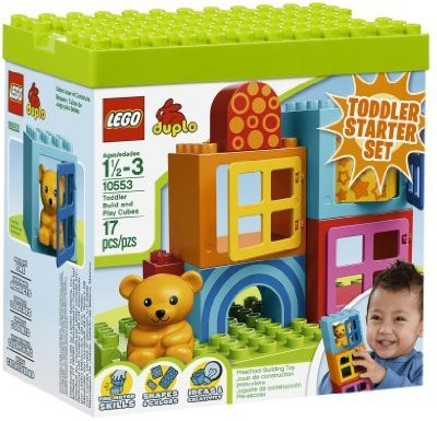 Lego Duplo Toddler Build And Play Cubes 10553(Multicolor)  available at flipkart for Rs.6027
