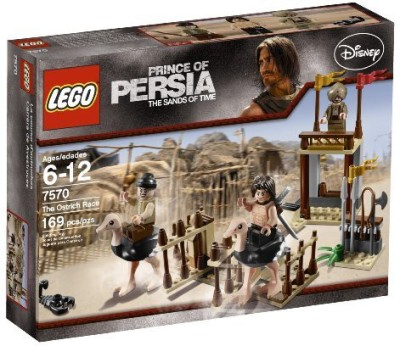 Lego Prince Of Persia The Ostrich Race (7570)(Multicolor)  available at flipkart for Rs.5374