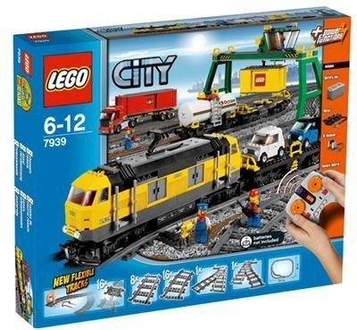 Lego City Cargo Train 7939(Multicolor)  available at flipkart for Rs.51309