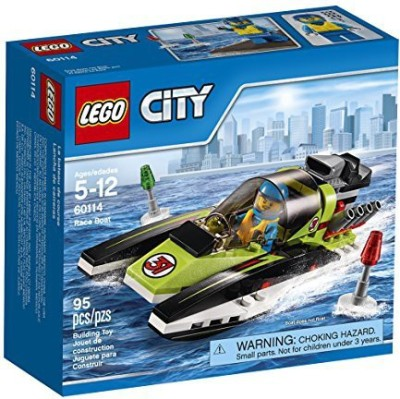 Lego City Race Boat(Multicolor)  available at flipkart for Rs.2505