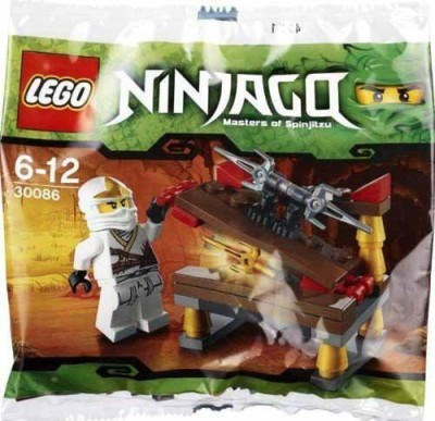 Lego Ninjago Mini Figure Set 30086 Hidden Sword With Zane Zx(Multicolor)  available at flipkart for Rs.2898